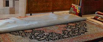 Übermaße bei Teppichen - Ein Beispiel eines großen Perser Teppichs