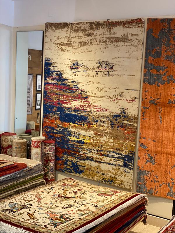 Designer Teppich bei Sasan Tabatabei in Klagenfurt